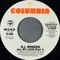 D. J. Rogers - Love Brought Me Back