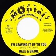 Dale & Grace - I'm Leaving It Up To You / That's What I Like About You