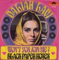 Daliah Lavi - Won't You Join Me ? / Black Paper Roses