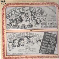 Dana Andrews, Jeanne Crain, Dick Haymes - State Fair, Centennial Summer