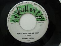 Darrell Glenn / Darrell Glenn With The Rhythm Riders - Write And Tell Me Why