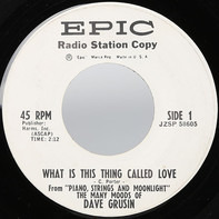 Dave Grusin - What Is This Thing Called Love