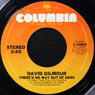 David Gilmour - There's No Way Out Of Here / Deafinitely