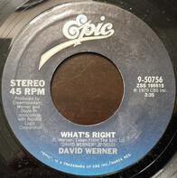 David Werner - What's Right / Eye To Eye