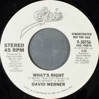 David Werner - What's Right