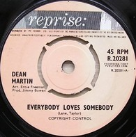 Dean Martin - Everybody Loves Somebody / A Little Voice /  The Door Is Still Open To My Heart / Every Minute Ever