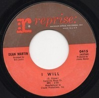 Dean Martin - I Will