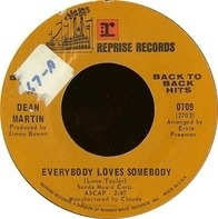 Dean Martin - Everybody Loves Somebody / A Million And One
