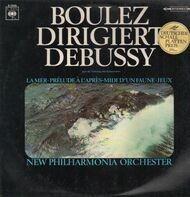 Debussy - La Mer, Prelude a l'apres.., Jeux,, Boulez, New Philh Orch