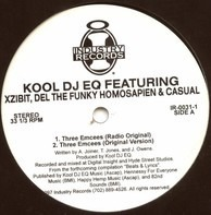 Del The Funky Homosapien & Casual Kool DJ EQ Featuring Xzibit - Three Emcees