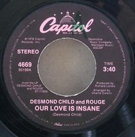 Desmond Child And Rouge - Our Love Is Insane