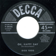 Dick Todd - Oh, Happy Day