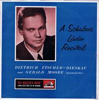 Dietrich Fischer-Dieskau - A Schubert Lieder Recital