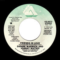Dionne Warwick And Johnny Mathis - Friends in Love