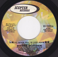 Dionne Warwick - I'll Never Fall In Love Again / What The World Needs Now Is Love