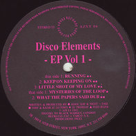 Disco Elements - EP Volume 1