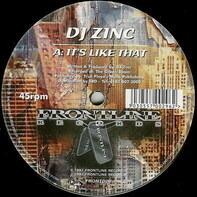 DJ Zinc - It's Like That / Oasis