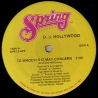 DJ Hollywood - To Whoever It May Concern