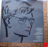 Dmitri Shostakovich , David Oistrach , Moscow Philharmonic Orchestra Conducted By Kiril Kondrashin - Concerto No.2 For Violin And Orchestra - Symphony No. 6