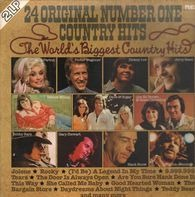 Dolly Parton, Dickey Lee,  Hank Snow a.o. - 24 Original Number One Country Hits