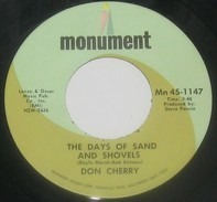Don Cherry - The Days Of Sand And Shovels / That Woman's Coming Home