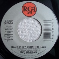 Don Williams - Back In My Younger Days / Diamonds To Dust