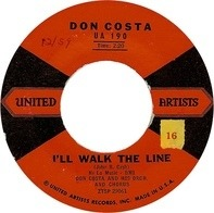 Don Costa's Orchestra And Chorus - I'll Walk The Line / Catwalk