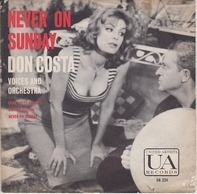Don Costa's Orchestra And Chorus - Never On Sunday
