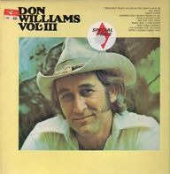 Don Williams - Vol. III