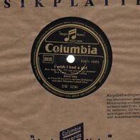 Doris Day - I Wish I Had A Girl/ Nobody's Sweetheart