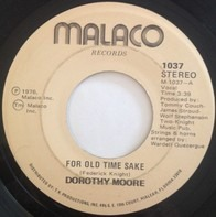 Dorothy Moore - For Old Time Sake