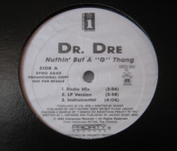 Dr. Dre - Nuthin' But A 'G' Thang