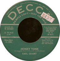 Earl Grant - Honky Tonk / The Next Time You See Me