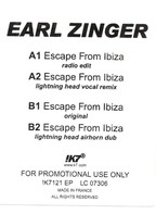 Earl Zinger - Escape From Ibiza