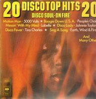 Earth, Wind & Fire, The O´Jays, 5000 Volts - Disco Soul On Fire, 20 Disco Top Hits