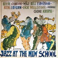 Eddie Condon , Wild Bill Davison , Kenny Davern , Dick Wellstood , Gene Krupa - Jazz at the New School