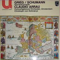 Grieg, Schumann - Klavierkonzerte (Claudio Arrau, Christoph von Dohnányi)