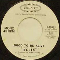 Ellis - Good To Be Alive