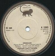 Lake & Palmer Emerson - JERUSALEM