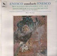 Enescu - Enesco Conducts Enesco: Roumanian Rhapsodies Nos. 1 & 2 / Dixtuor..