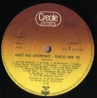 Enigma - Ain't No Stopping - Disco Mix '81