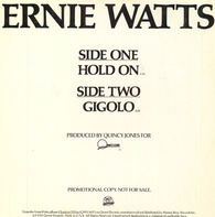 Ernie Watts - Hold On / Gigolo