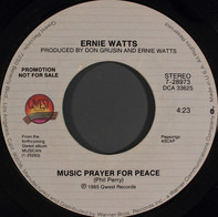 Ernie Watts - Music Prayer For Peace