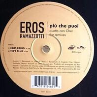 Eros Ramazzotti Duetto Con Cher - Più Che Puoi (The Remixes)