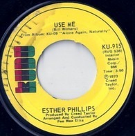 Esther Phillips - Use Me / Let Me In Your Life