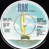 Exile - Heart And Soul / Your Love Is Everything