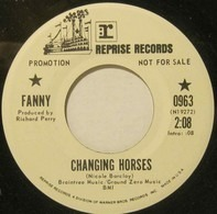 Fanny - Changing Horses / Conversation With A Cop (Promo)