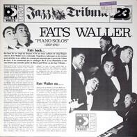 Fats Waller - Piano Solos 1929-1941