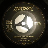 Fats Domino - Jambalaya (On The Bayou) / I Hear You Knocking