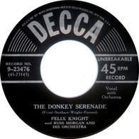 Felix Knight And Russ Morgan And His Orchestra - The Donkey Serenade